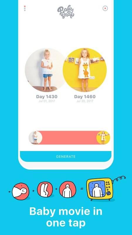 Baby Snap:每天一秒,拍下寶寶的成長截图2