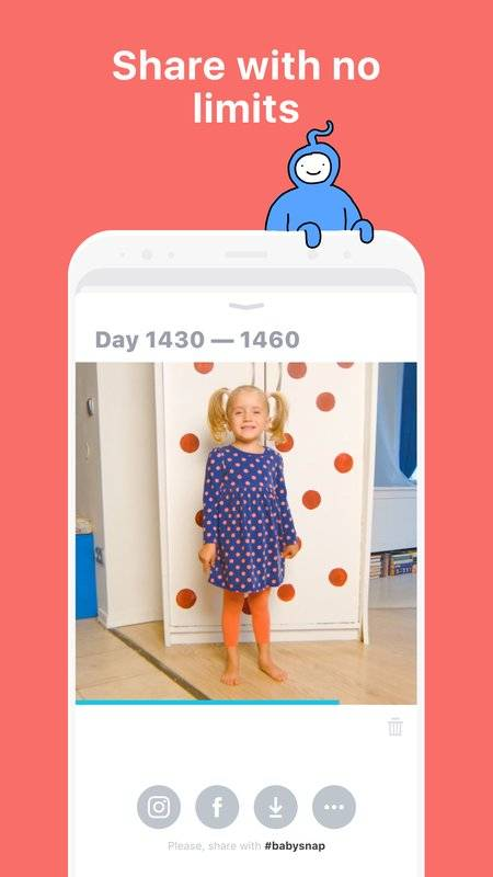 Baby Snap:每天一秒,拍下寶寶的成長截图3