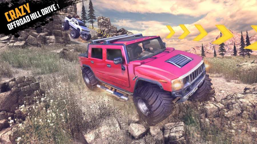 Offroad Jeep Hill Racing: 4x4 Xtreme Rally Driver截图0