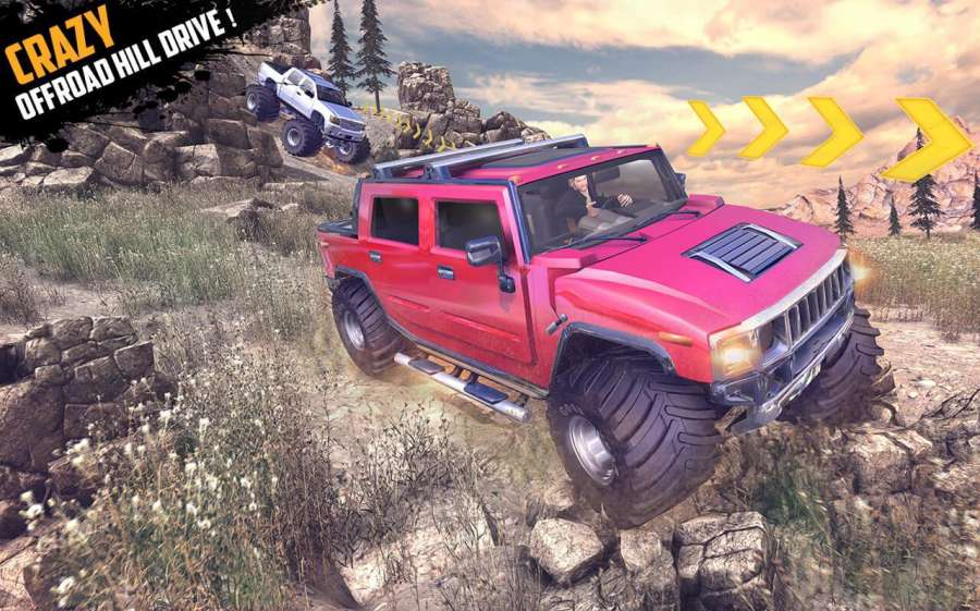 Offroad Jeep Hill Racing: 4x4 Xtreme Rally Driver截图2