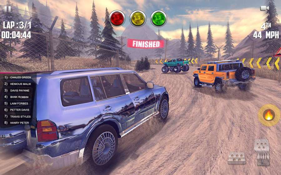 Offroad Jeep Hill Racing: 4x4 Xtreme Rally Driver截图3