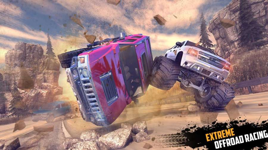 Offroad Jeep Hill Racing: 4x4 Xtreme Rally Driver截图4