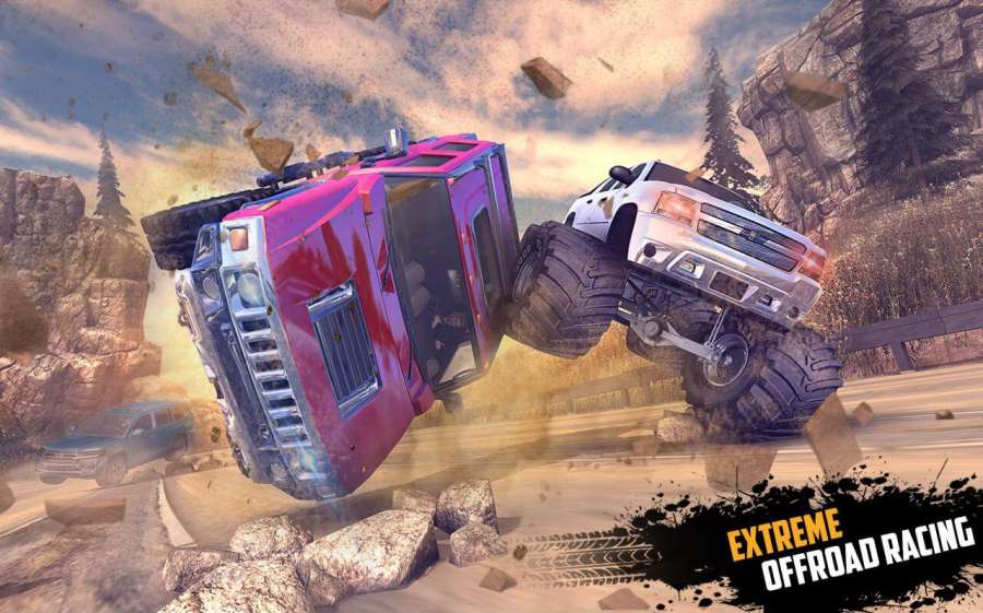 Offroad Jeep Hill Racing: 4x4 Xtreme Rally Driver截图5