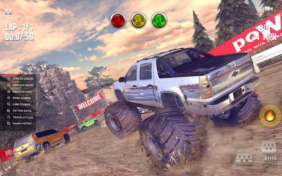 Offroad Jeep Hill Racing: 4x4 Xtreme Rally Driver截图6