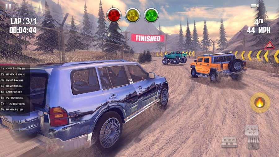 Offroad Jeep Hill Racing: 4x4 Xtreme Rally Driver截图8