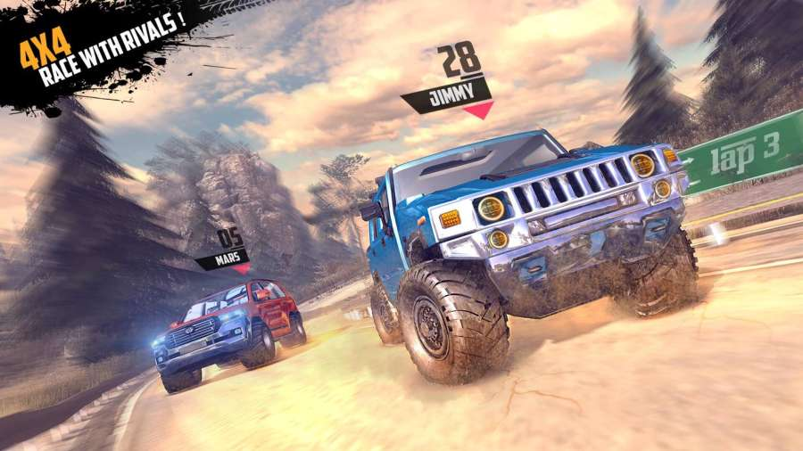 Offroad Jeep Hill Racing: 4x4 Xtreme Rally Driver截图9