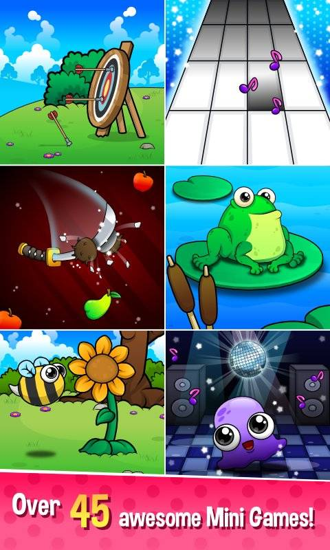 Moy 5  Virtual Pet Game截图2