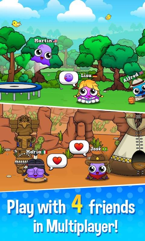 Moy 5  Virtual Pet Game截图3