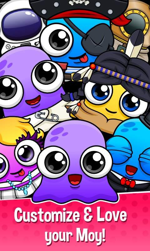Moy 5  Virtual Pet Game截图4