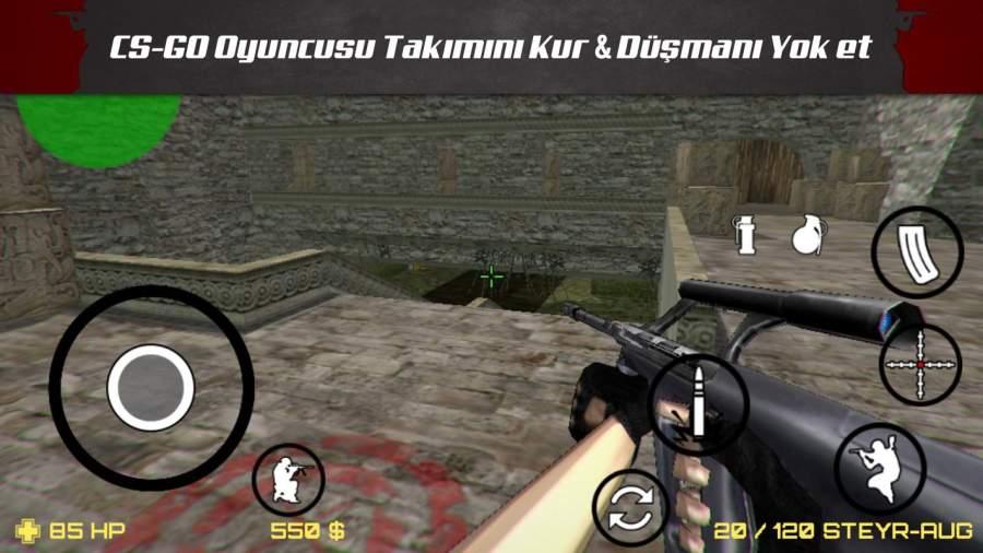Sniper Attack 3D CS截图1