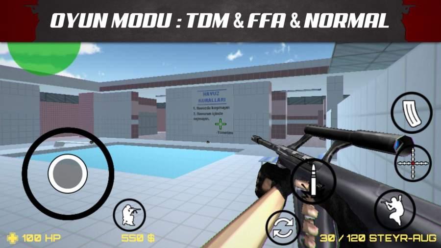 Sniper Attack 3D CS截图4