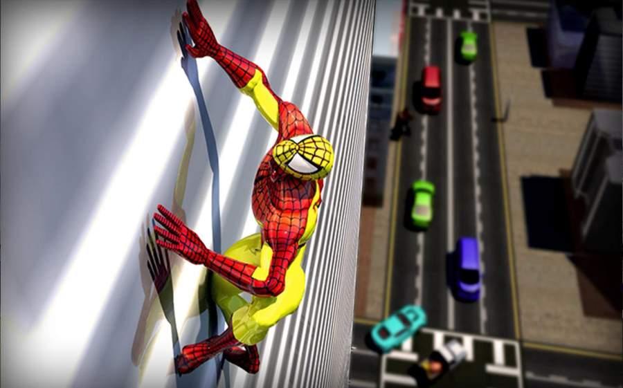真正的蜘蛛英雄救援:突击战