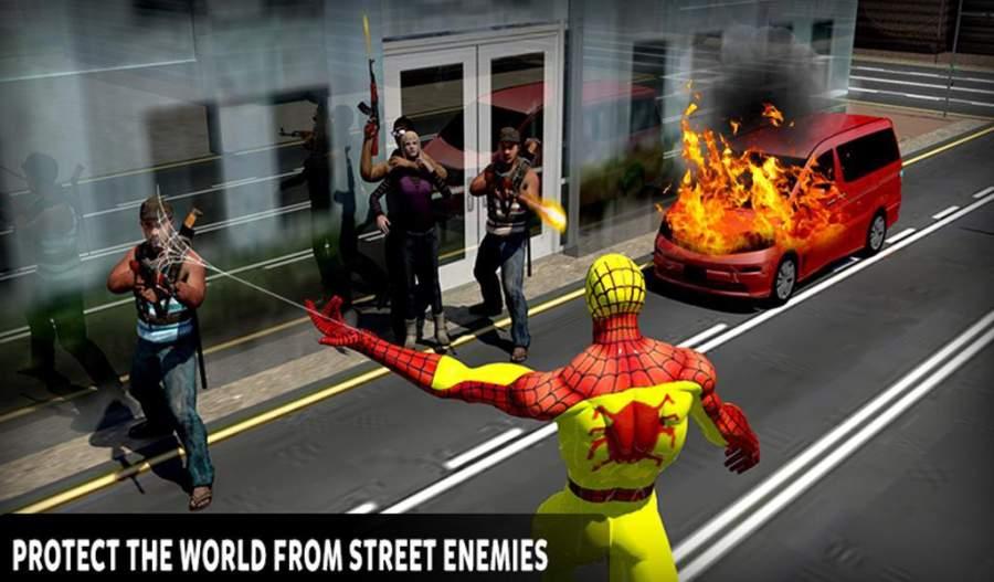 真正的蜘蛛英雄救援:突击战截图10