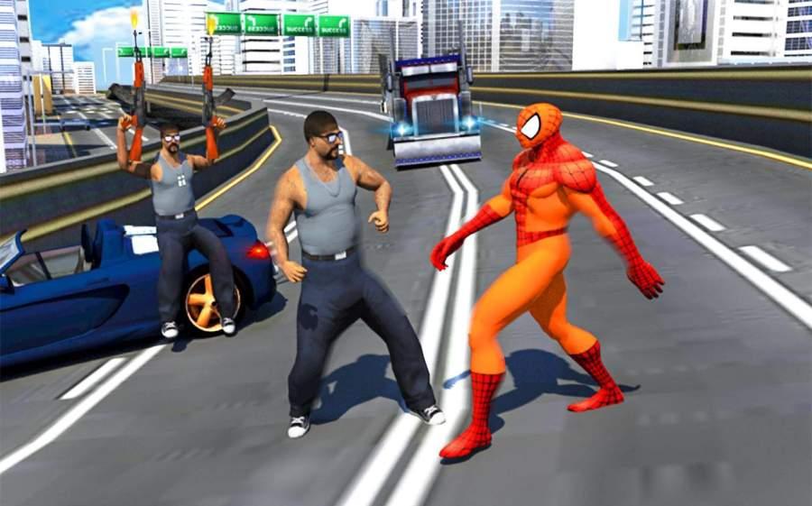 真正的蜘蛛英雄救援:突击战截图5
