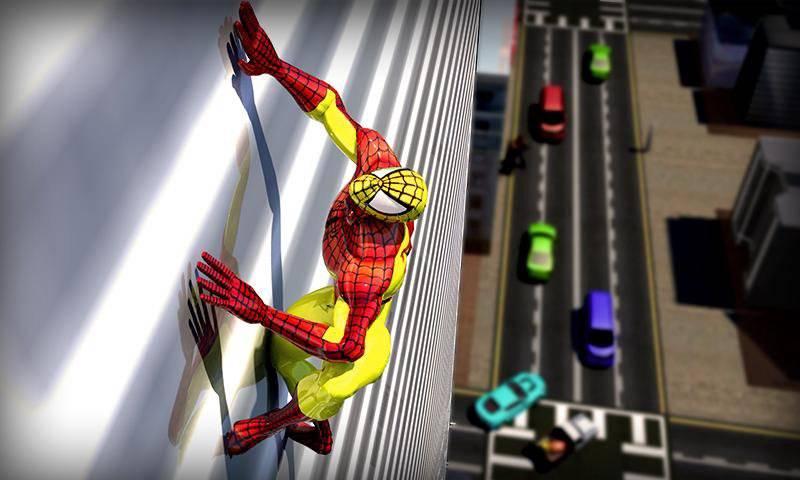 真正的蜘蛛英雄救援:突击战截图8