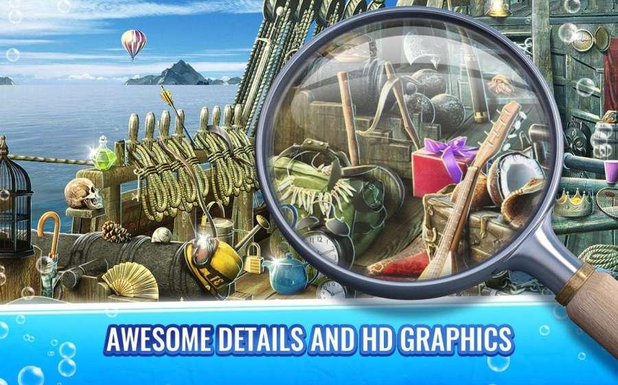 海洋隐藏物品游戏 - 寻宝冒险
