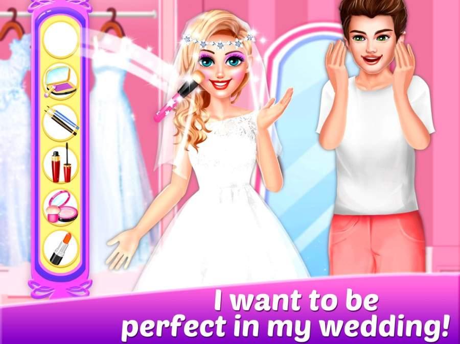书呆子女孩5 - 成为完美新娘!截图1