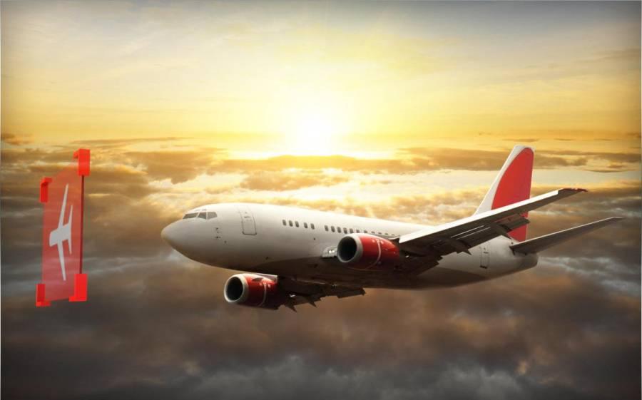 飞机模拟器 17 - 飞行飞机截图1