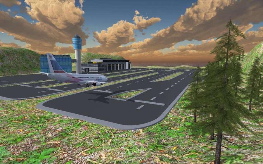 飞机模拟器 17 - 飞行飞机截图2