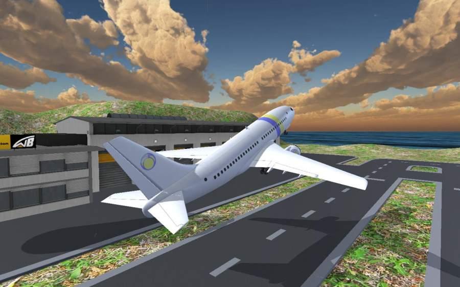 飞机模拟器 17 - 飞行飞机截图3