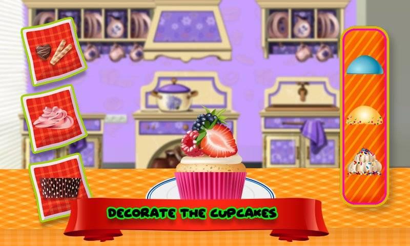 纸杯蛋糕糕点面包店商业和商店游戏截图3