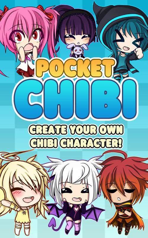 Pocket Chibi - Anime Dress Up截图1
