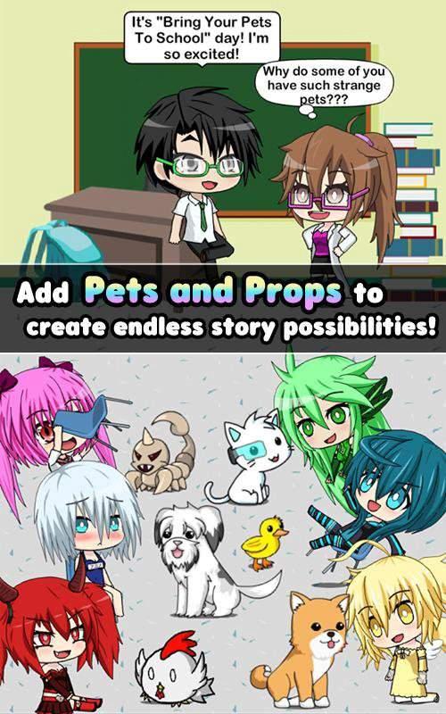 Pocket Chibi - Anime Dress Up截图5