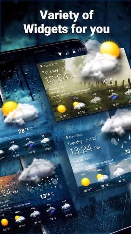 Storm Radar Weather Map&Forecast截图10