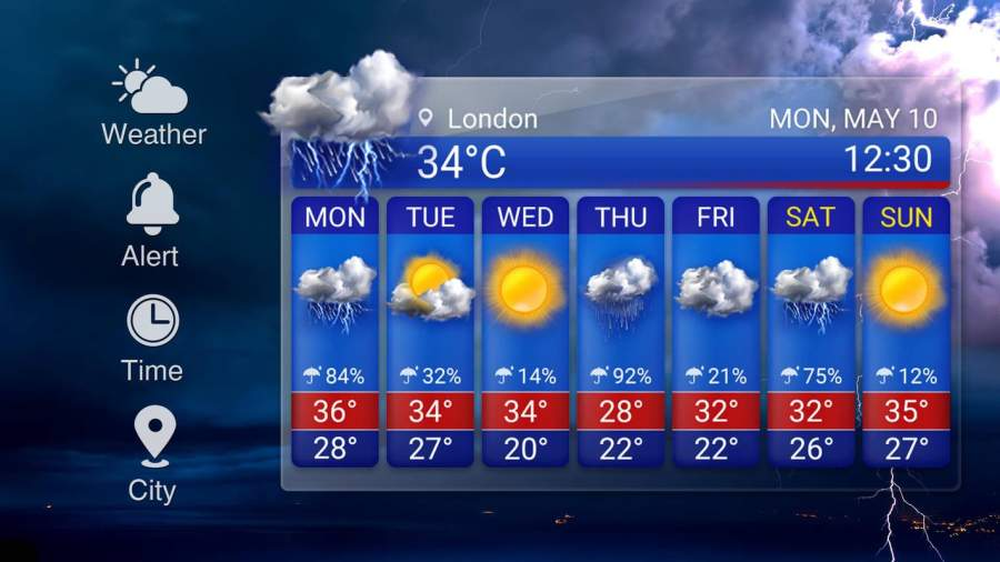 Storm Radar Weather Map&Forecast截图5