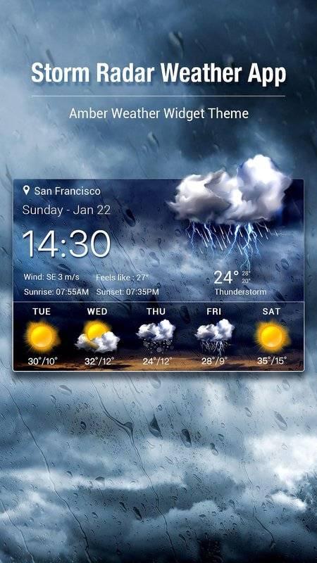 Storm Radar Weather Map&Forecast截图7