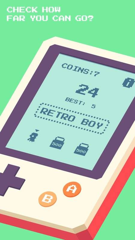 Retro Boy - 8-bit Game截图3