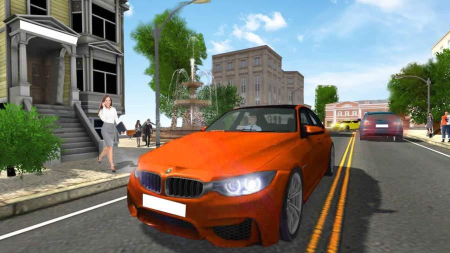 极端 汽车 模拟器: 超 豪华 驾驶截图1