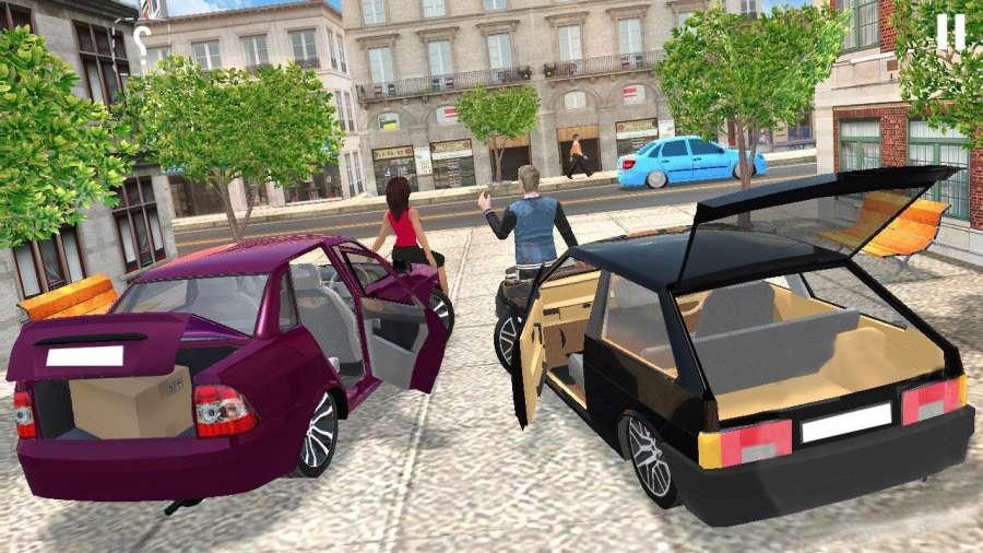 极端 汽车 模拟器: 超 豪华 驾驶截图3