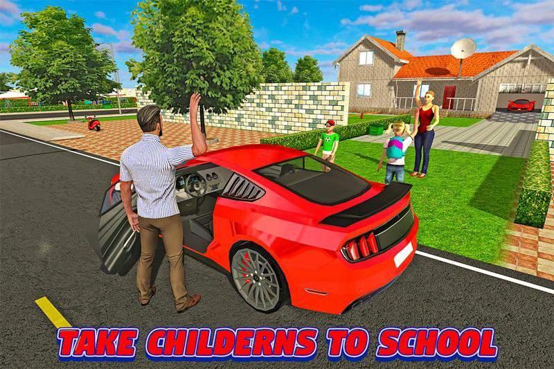 虚拟爸爸:幸福的家庭3D截图2