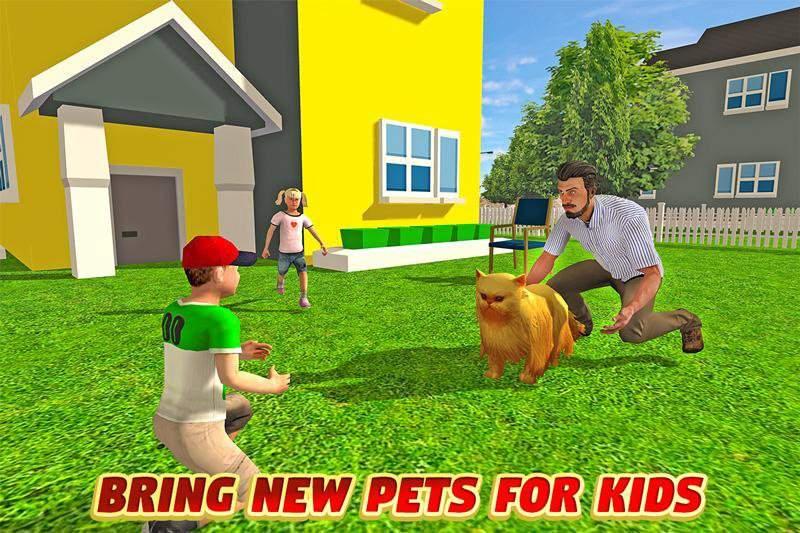虚拟爸爸:幸福的家庭3D截图3