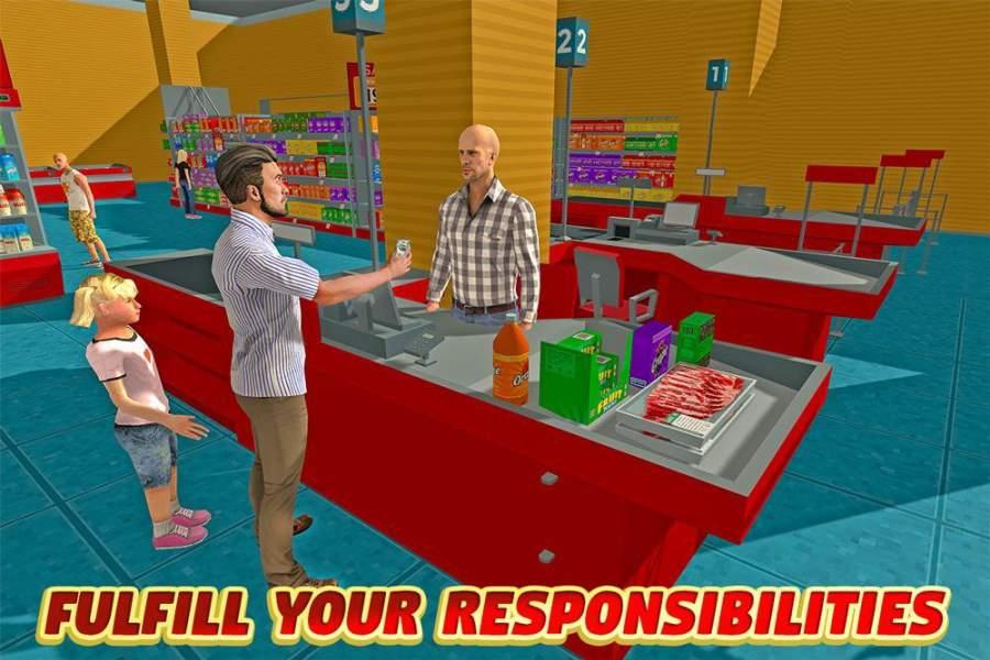 虚拟爸爸:幸福的家庭3D截图6
