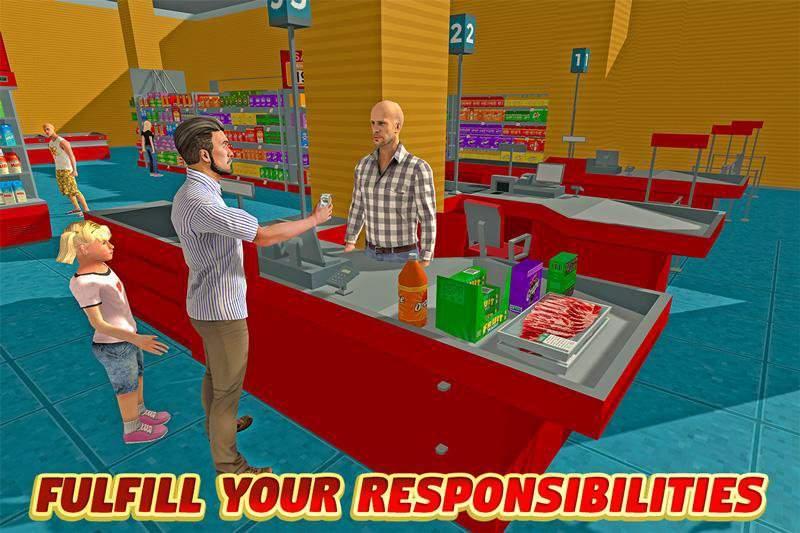 虚拟爸爸:幸福的家庭3D截图7