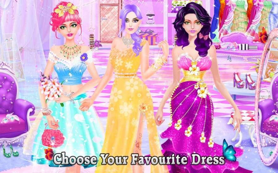 雪 公主 化妆 & 打扮 时尚 沙龙截图0