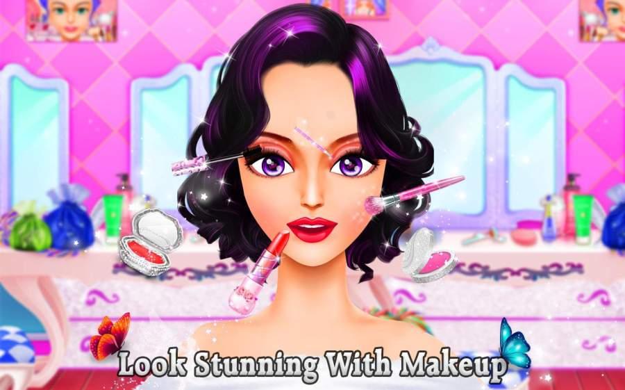 雪 公主 化妆 & 打扮 时尚 沙龙截图3