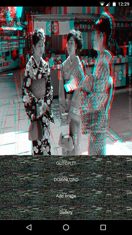 Glitch Effects and Aesthetic Trippy Filters截图2