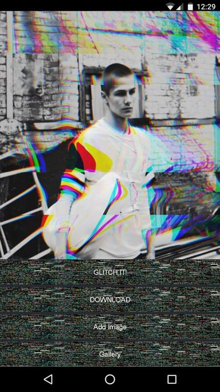 Glitch Effects and Aesthetic Trippy Filters截图3