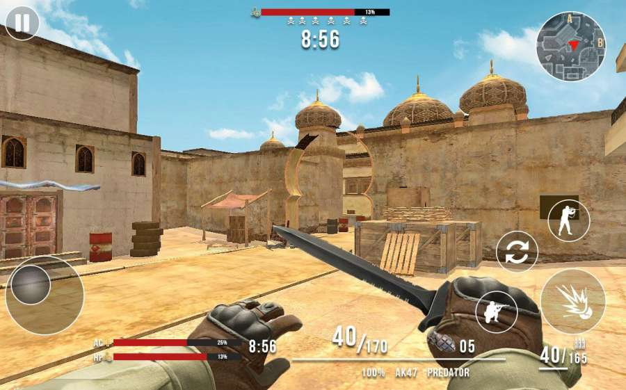 Frontline Counter Terrorist Critical Strike FPS截图0