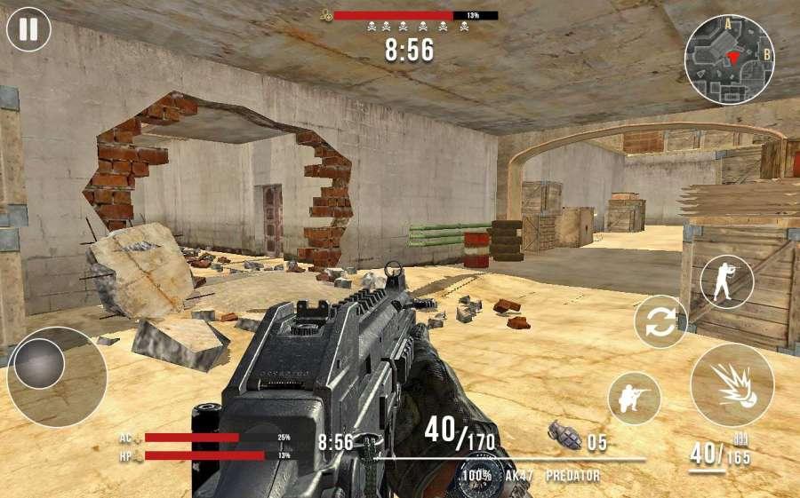 Frontline Counter Terrorist Critical Strike FPS截图1