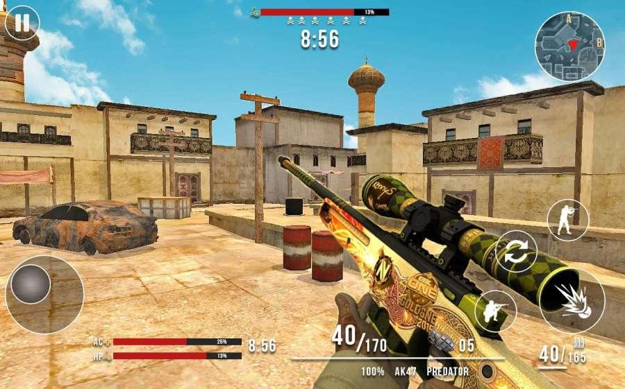 Frontline Counter Terrorist Critical Strike FPS截图2