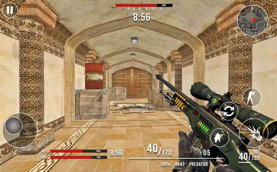 Frontline Counter Terrorist Critical Strike FPS截图4