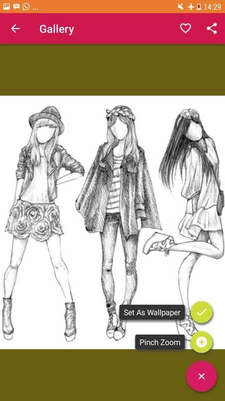 绘图时尚教程