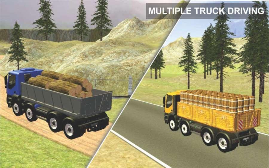 越野 货物 卡车 运输 司机截图1
