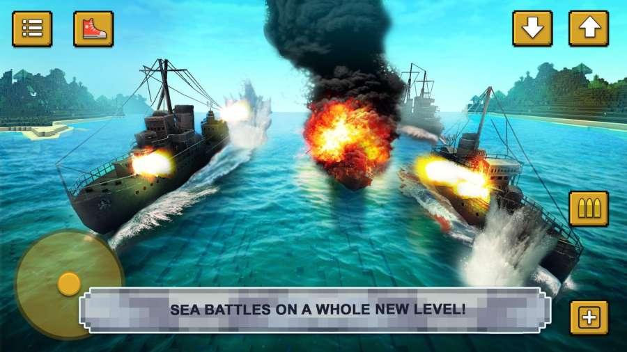 战舰决斗创造:建造海军的战争游戏截图1