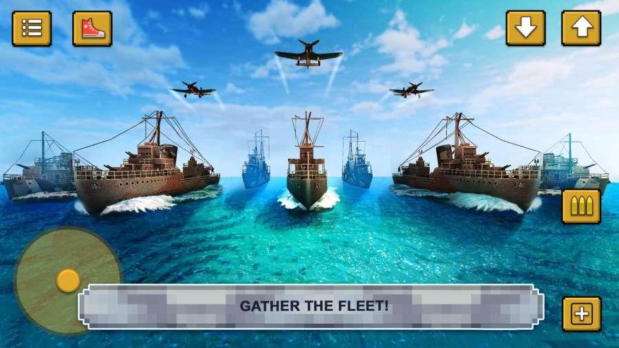 战舰决斗创造:建造海军的战争游戏截图2