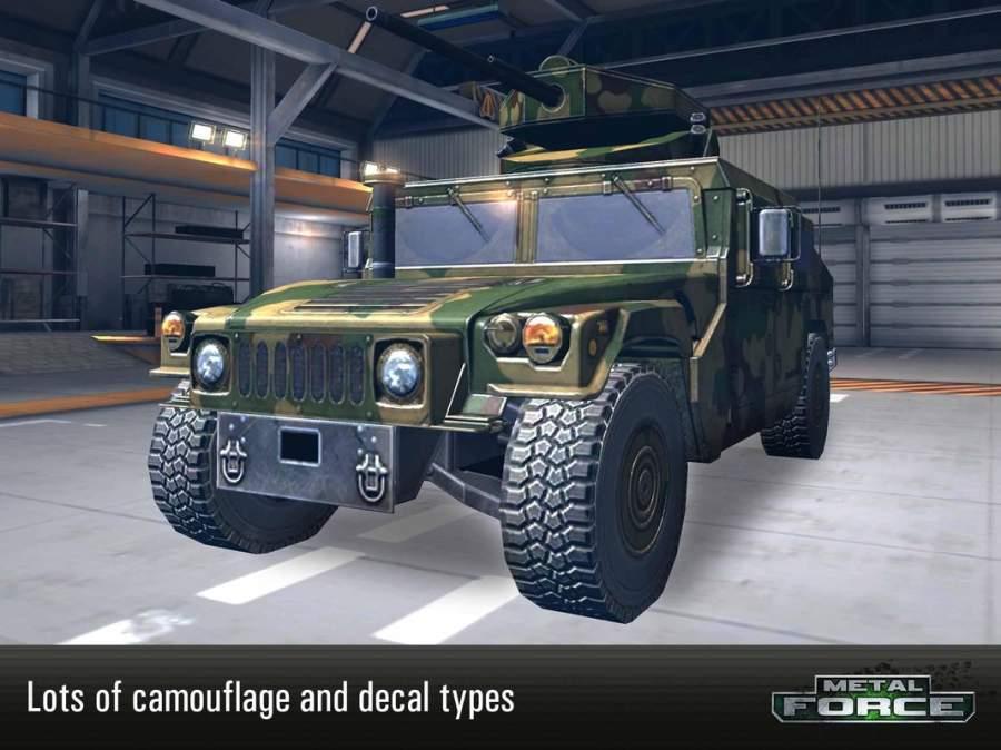 Metal Force: 最好的在線坦克射擊遊戲截图3